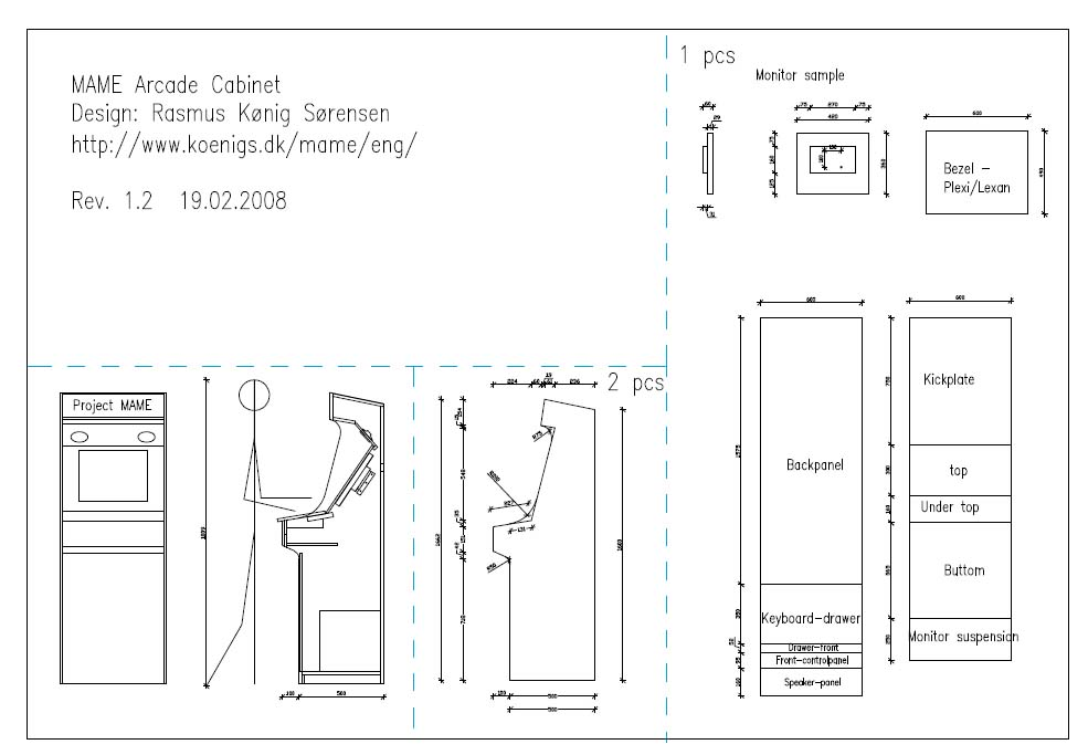 Cabinet Blueprints Download